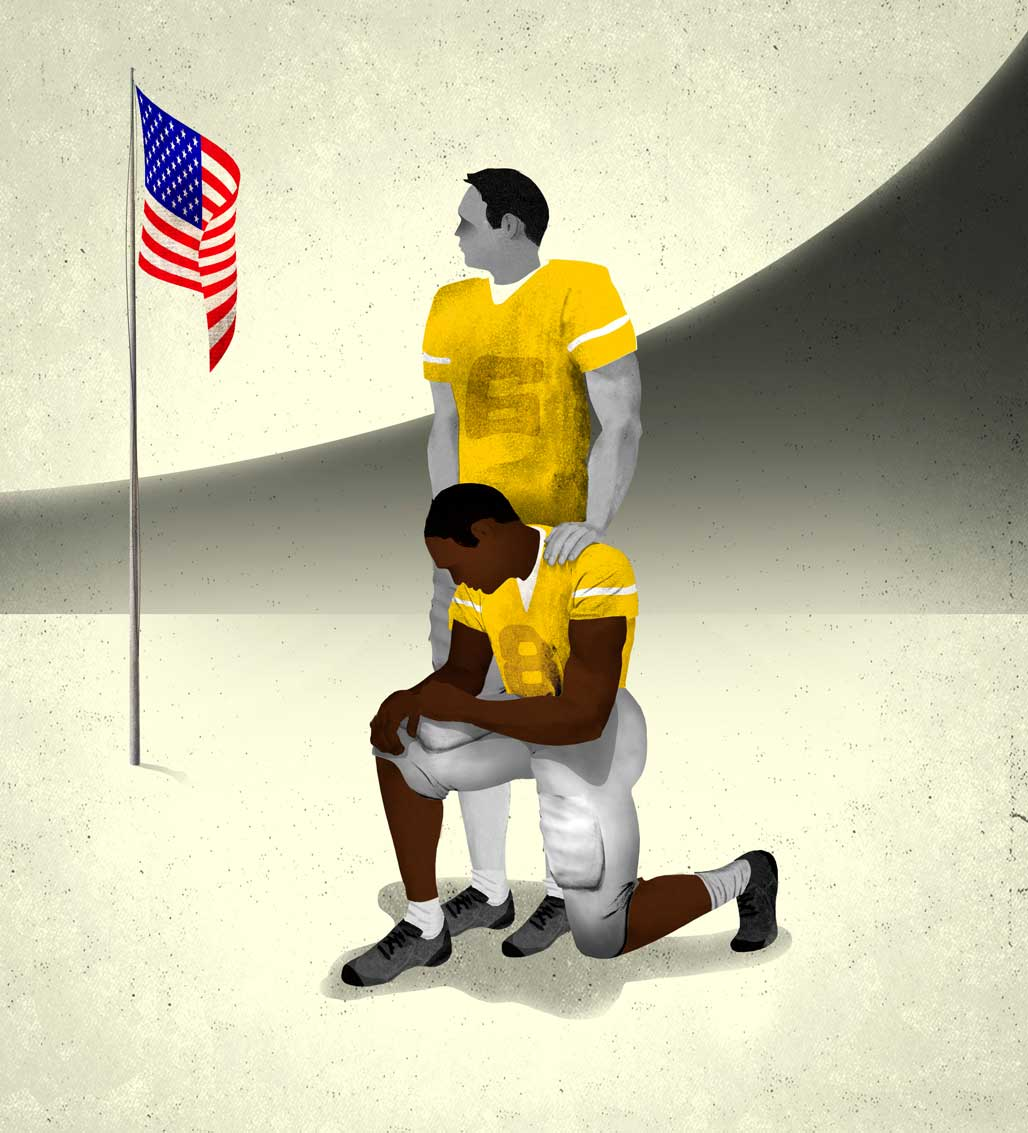 For These NFL Players, the Anthem Protests Are Personal