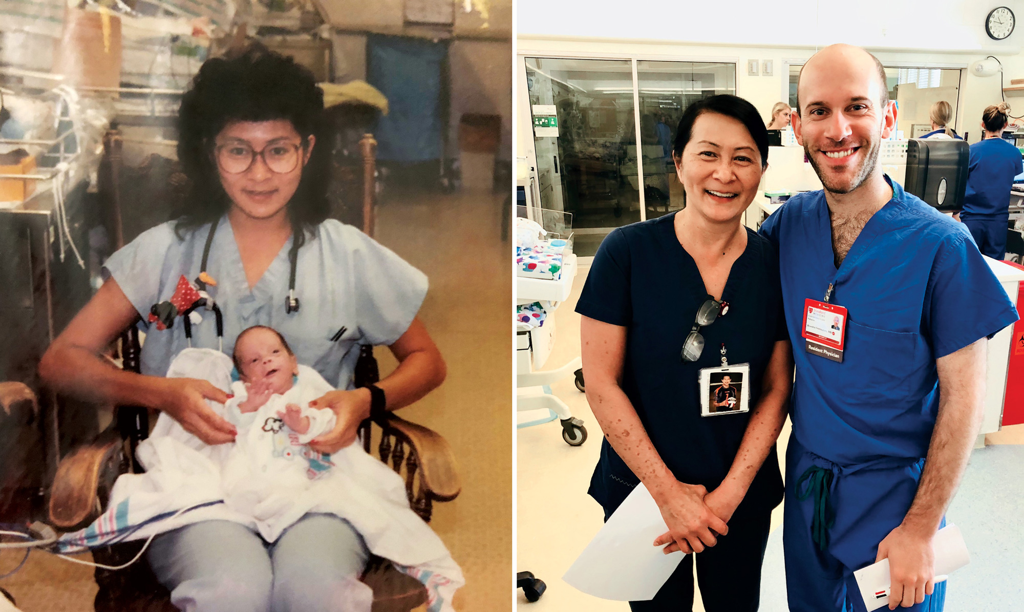 28 Years Later, NICU Nurse and Former Preemie Reconnect