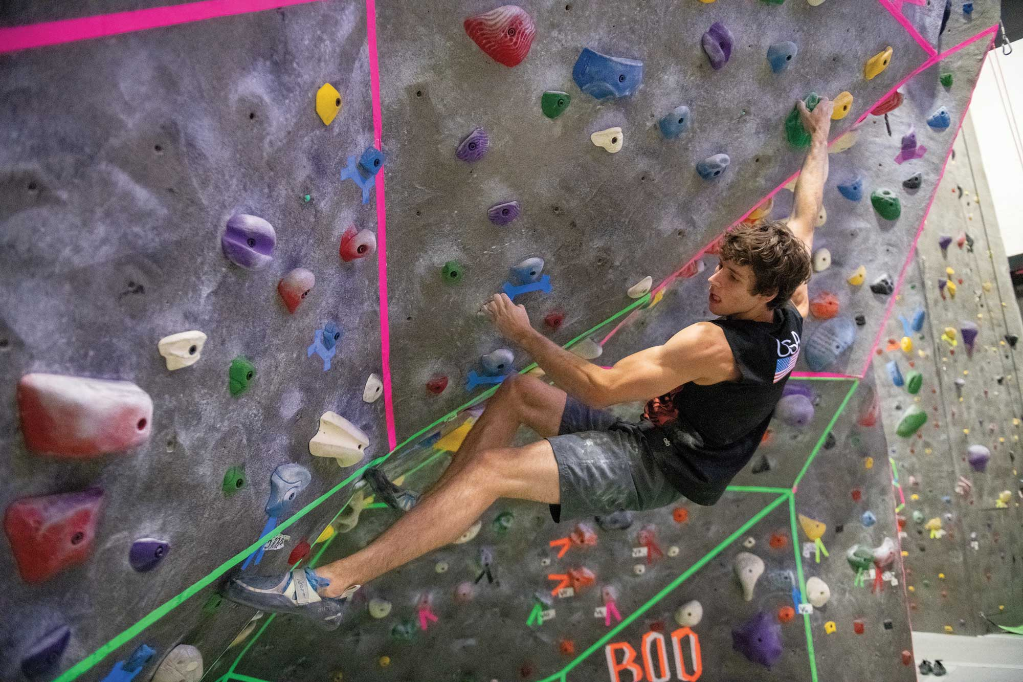 Stanford's Climbing Team Has High Expectations