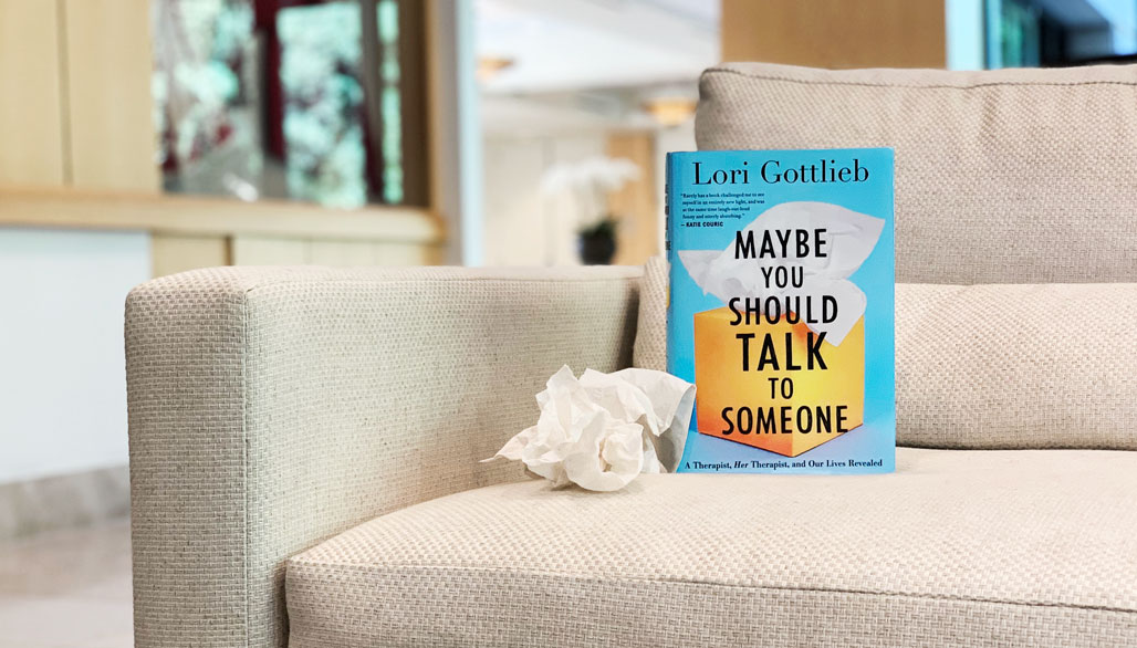 Book Review: Maybe You Should Talk to Someone