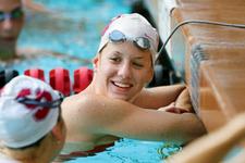 Olympian Focuses on the Here and Now