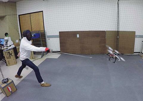 Drones - fencing