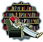library asleep icon