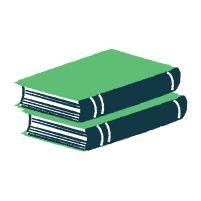 Stack of Books Illustration