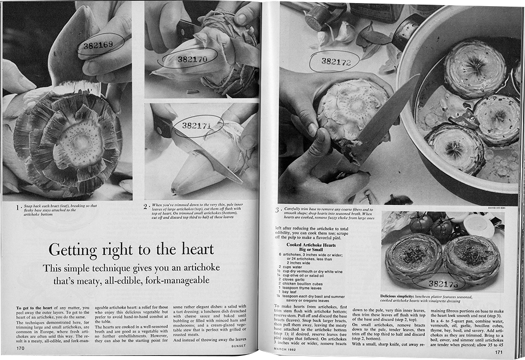 "Photo of ""Getting right to the heart"" article, March 1982."