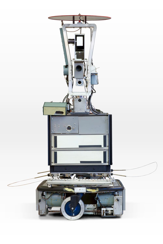 Photo of Shakey robot.