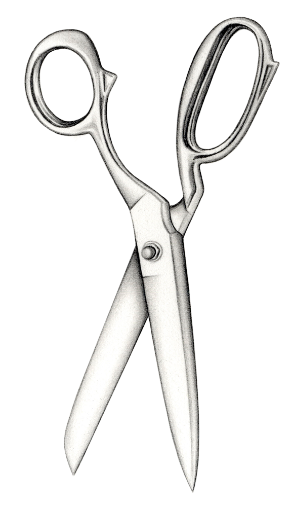 Illustration of scissors