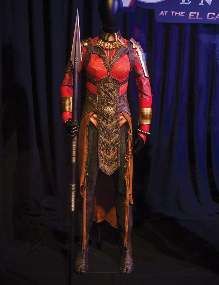 Okoye costume.