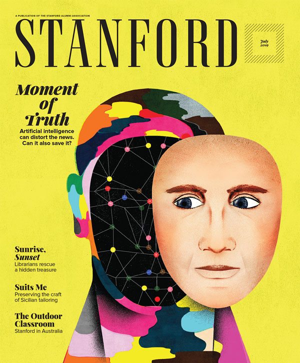 picture of STANFORD magazine May 2019 Cover
