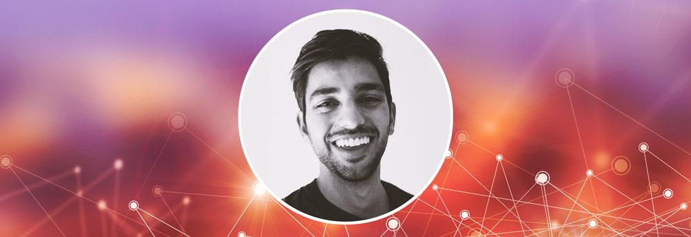 Headshot of Ayush Sood against plain background