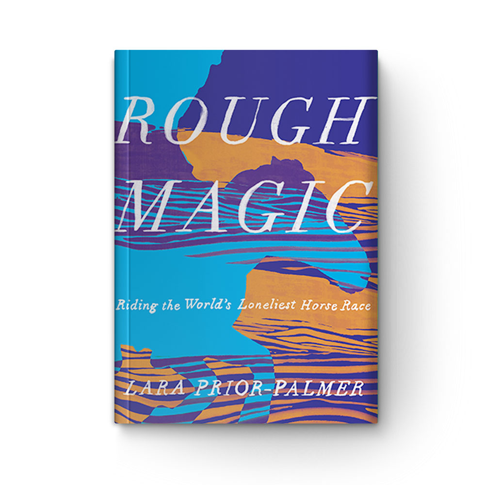 Book cover of Rough Magic on white background.
