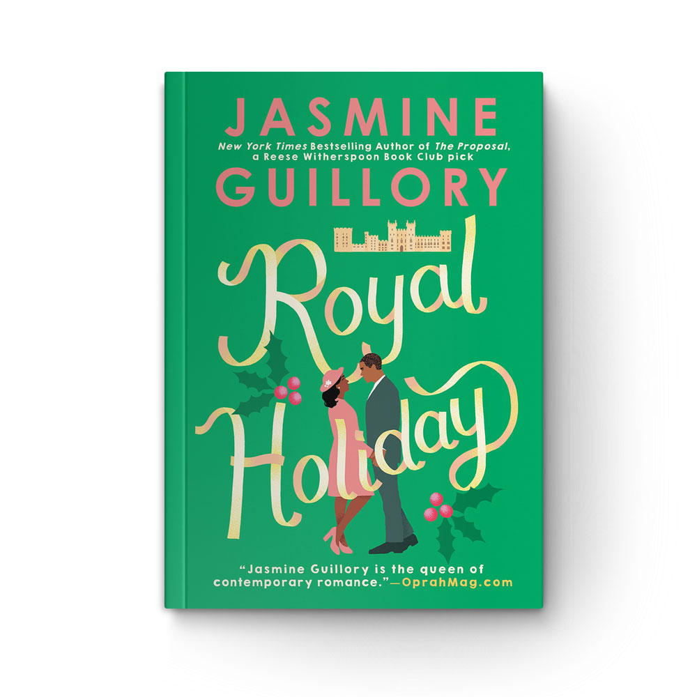 """Book cover of """"Royal Holiday"""" by Jasmine Guillory"""