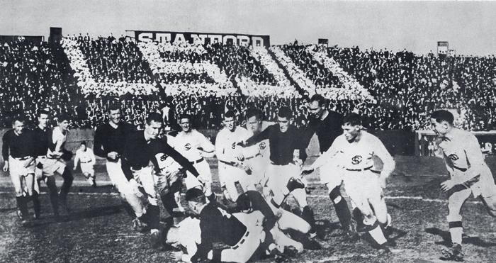 Rugby match against Santa Clara