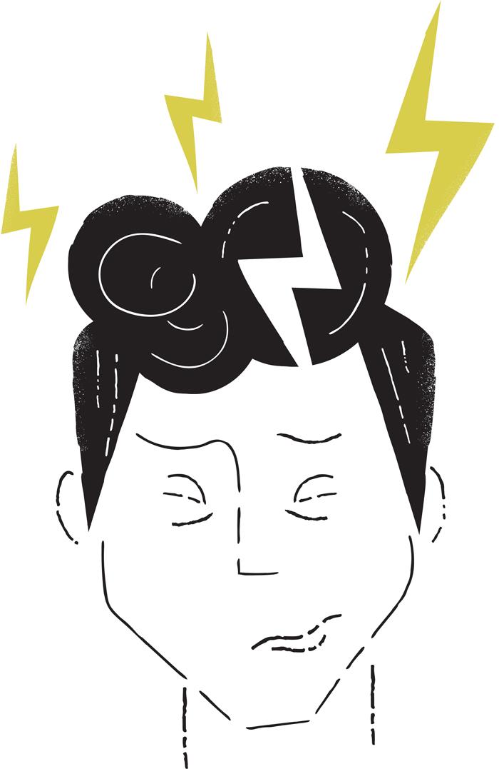 Headache-migraine concussion