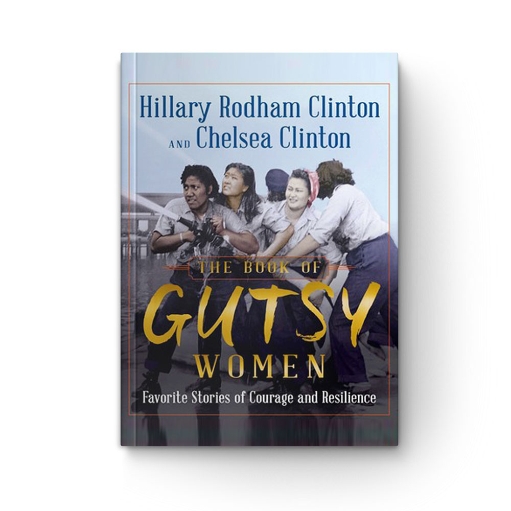 Photo of book cover of The Book of Gutsy Women: Favorite Stories of Courage and Resilience
