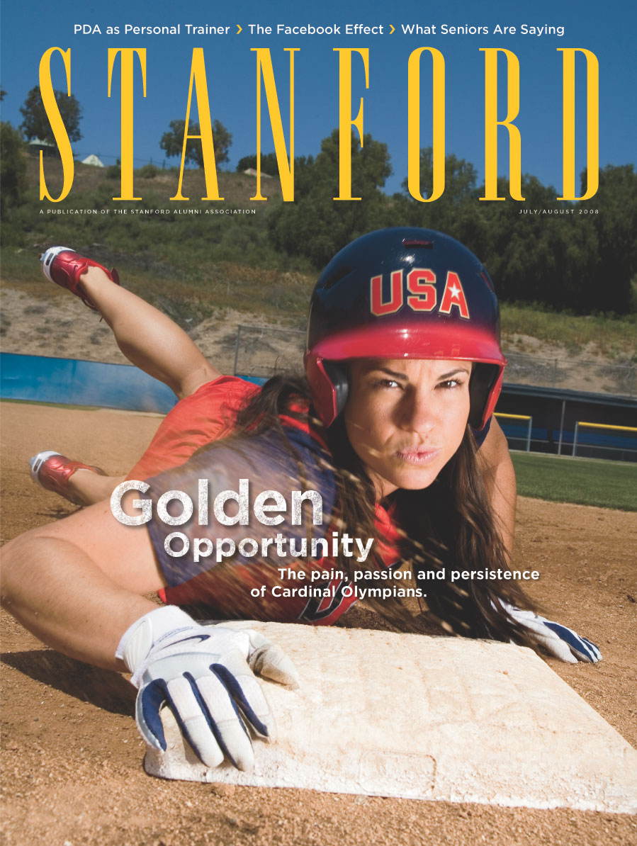 Cover image of STANFORD magazine, January 2008 issue