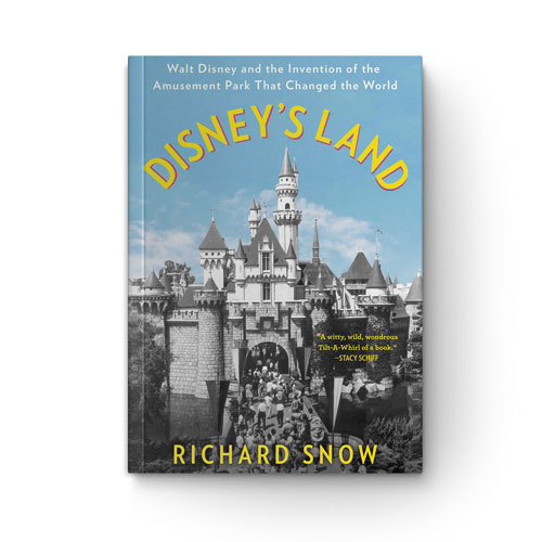 Disney's Land book cover