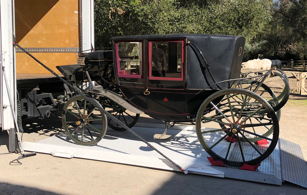 Stanford family carriage.