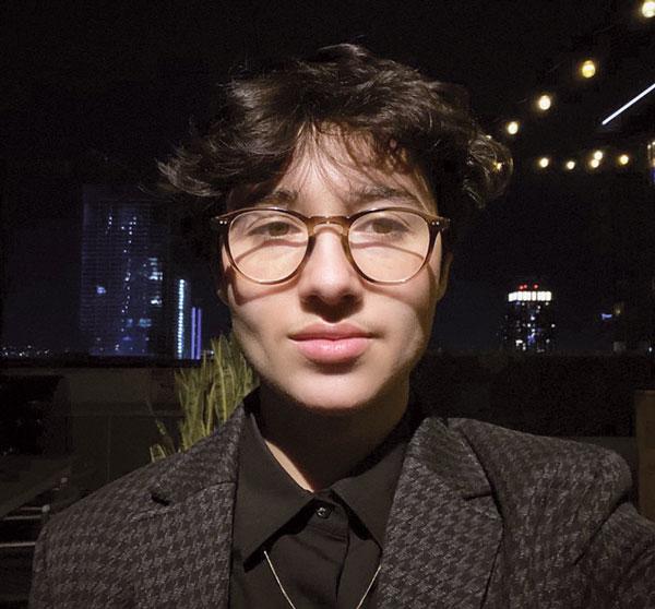 Selfie of Eva Orozco