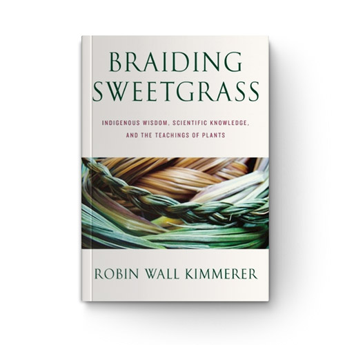 Braiding Sweetgrass: Indigenous Wisdom, Scientific Knowledge, and the Teachings of Plants book cover