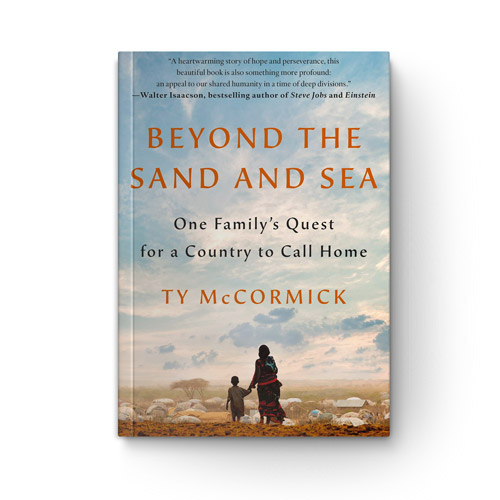 Beyond the Sand and Sea: One Family's Quest for a Country to Call Home book cover