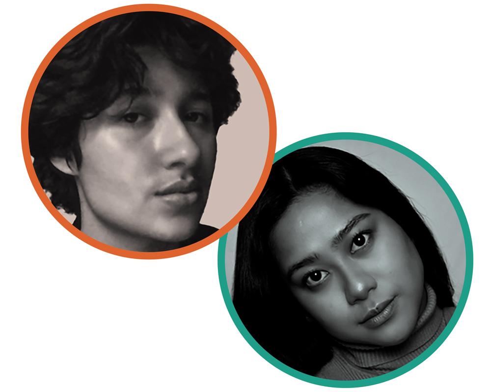 Headshots of Eva Orozco and Stacey Lubag