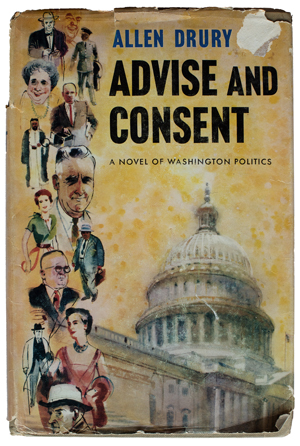 Image of the Advise and Consent book cover