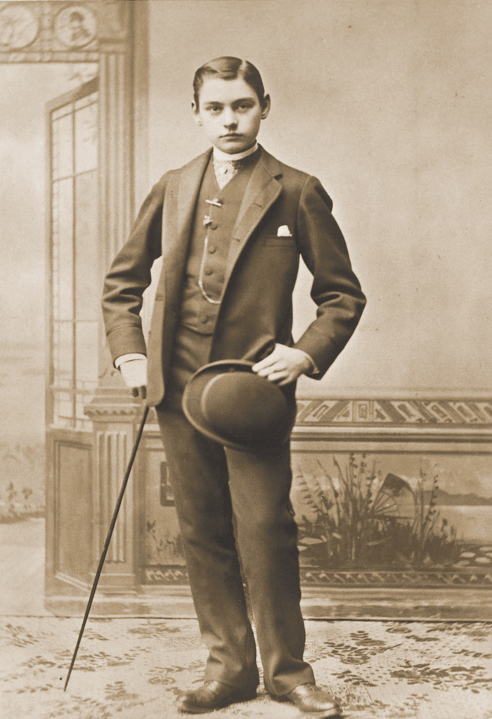 FOREVER FIFTEEN: In September 1883, at age 15, Leland Junior toured Europe and wrote to his father describing his adventures. Seven months later, he was dead.