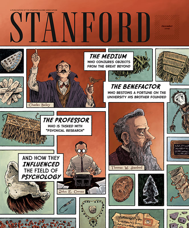 Cover image of STANFORD magazine, December 2019 issue