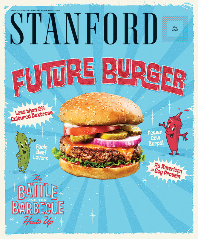 Cover image of STANFORD magazine, May 2020 issue