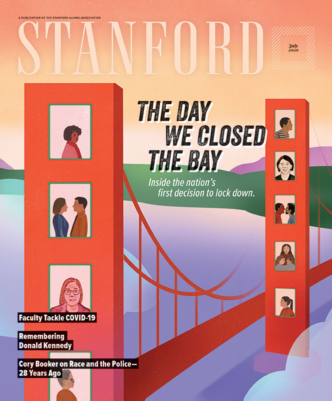 Cover image of STANFORD magazine, July 2020 issue