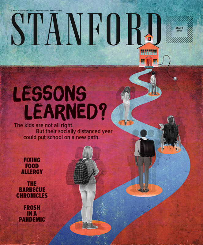 March 2021 STANFORD magazine cover